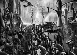 Eldar Craftworld at war