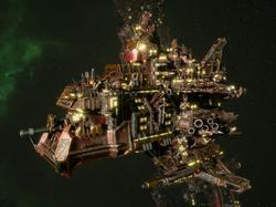Ork Terror Ship