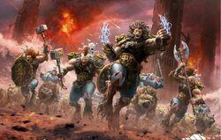 The Wulfen In Battle