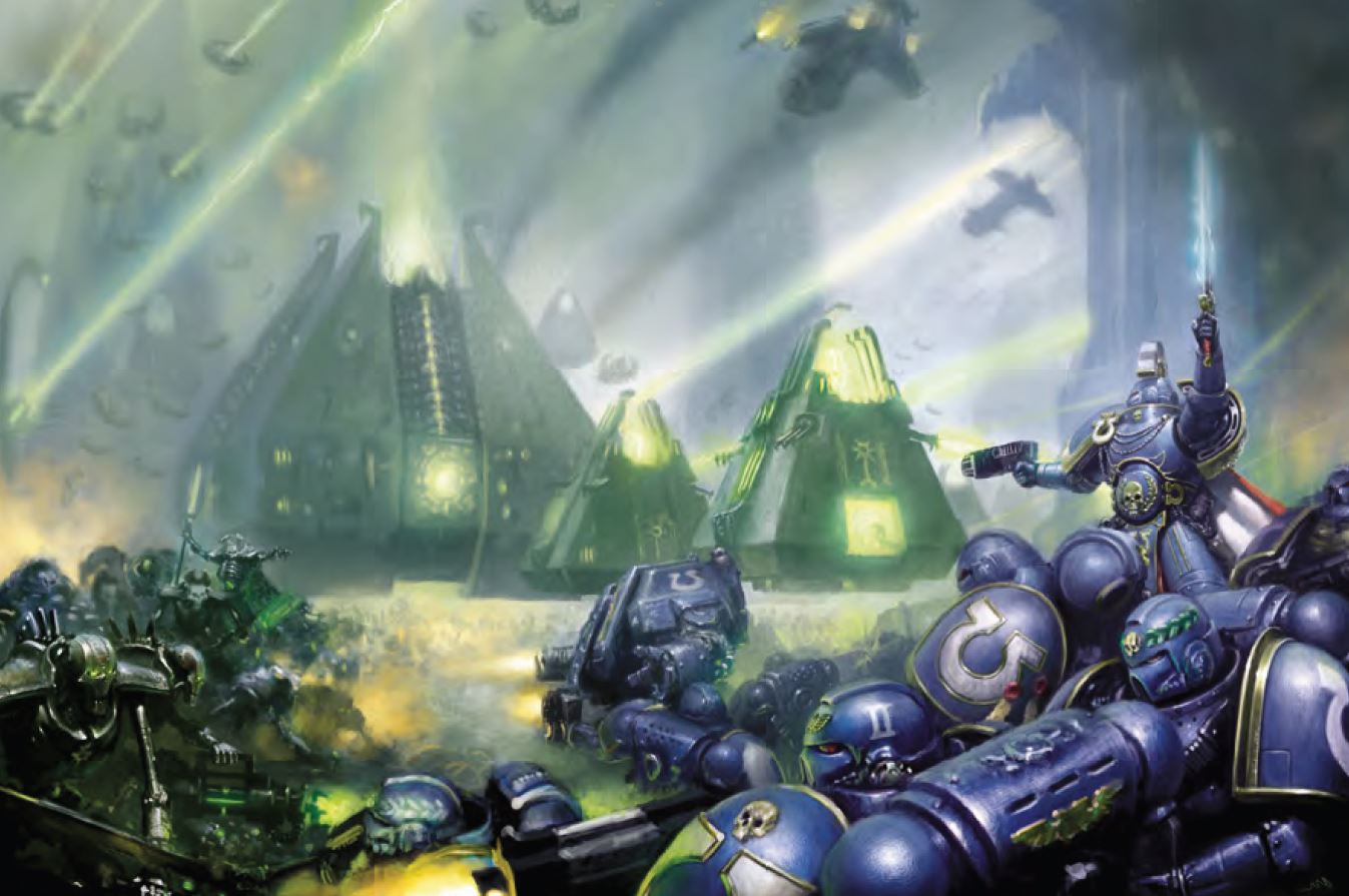 Image result for necrons fortress