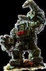 Ork in Mega Armour