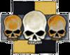 7. Triple Skull