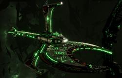 Necron Scythe-class Harvest Ship