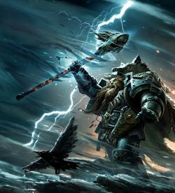 Njal Stormcaller summoning