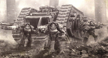 Terminators of the Thousand Sons and Landeraider