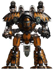 Legio Oberon Warlord Titan