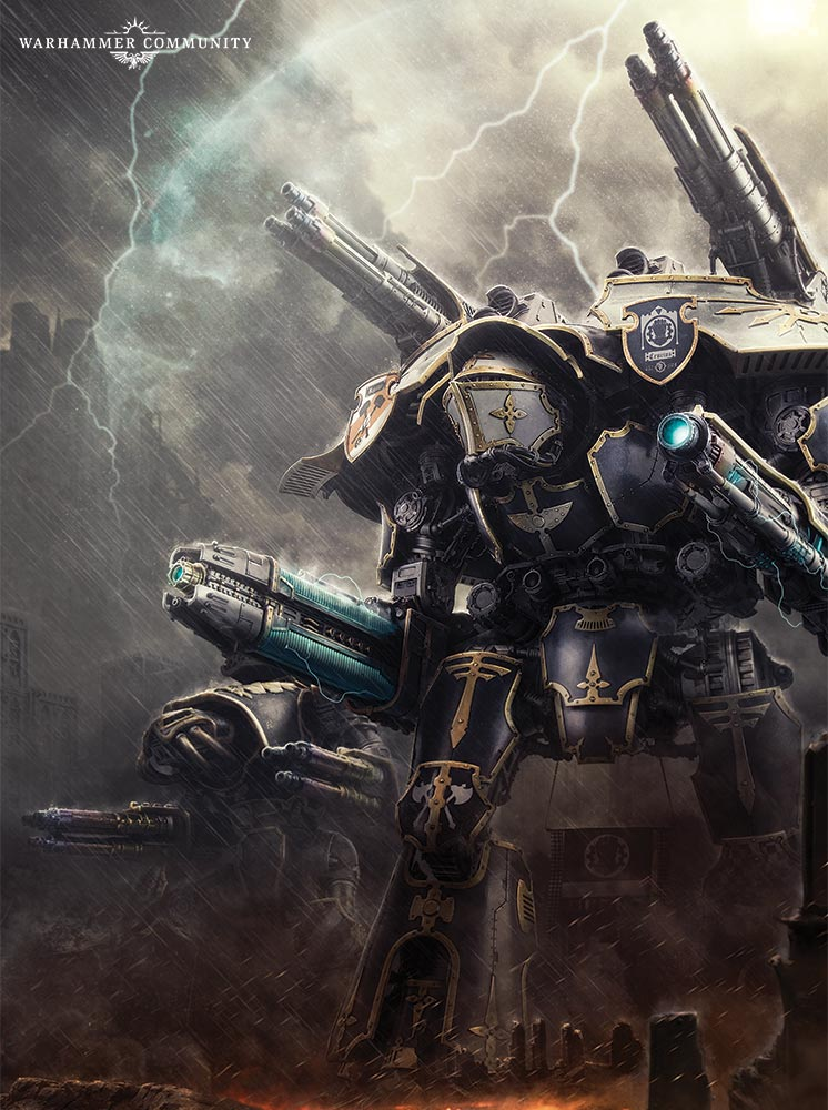 Warlord-class Titan | Warhammer 40k | FANDOM powered by Wikia
