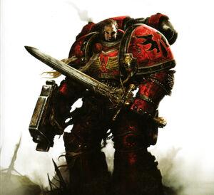 Blood Angels sergeant Rafen