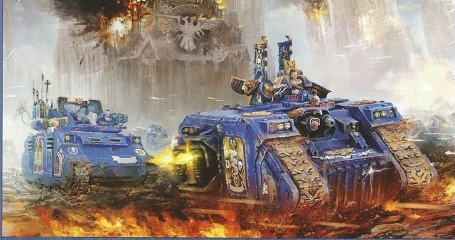 File:Land Raider Excelsior Rhino Primaris Ultramarines.jpg