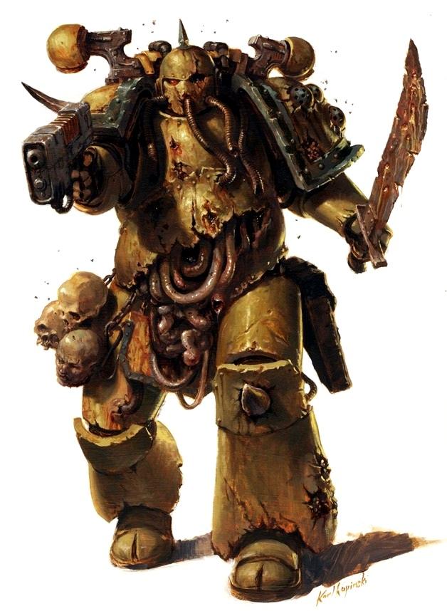 Plague Marines Warhammer 40k Fandom Powered By Wikia