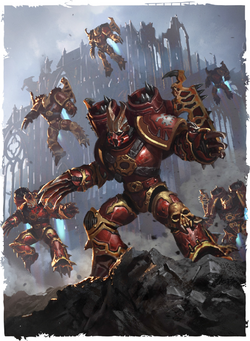 Daemonkin Warp Talons