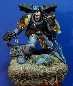 Ragnar Blackmane model