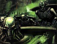 Necron Warriors Enmasse