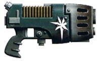 Valthek-II Monocore Plasma Pistol