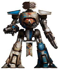 Legio Osedax Reaver-class Titan