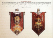 Word Bearers Banners