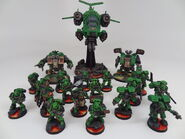 Salamanders force mini