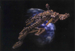 Fra'al Battlecruiser BFG miniature