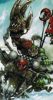 Nob Ork Biker Power Klaw