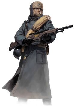 Valhallan Trooper