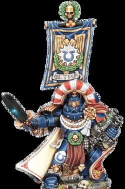 Капитан Ультрамаринов, миниарюра