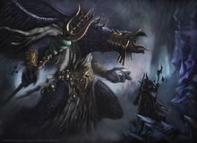 Ahriman and a Lord of Change