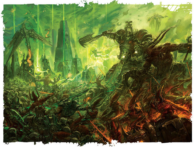 File:Daemonkin Army vs. Necrons.png
