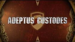 Adeptus Custodes Trailer