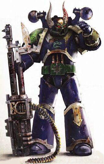 Alpha Legion Traitor Marine