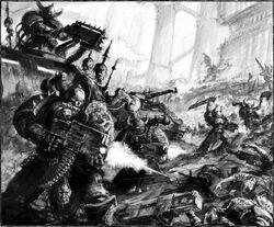 Alpha Legionnaires attack