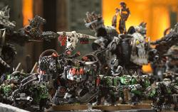 Ork Warlord & Boyz