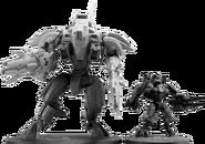 XV107 R'varna Battlesuit height
