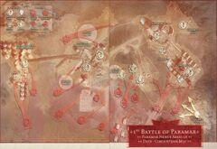 First Battle of Paramar Map