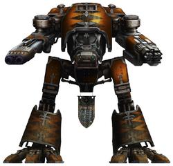 Legio Oberon Warhound Titan