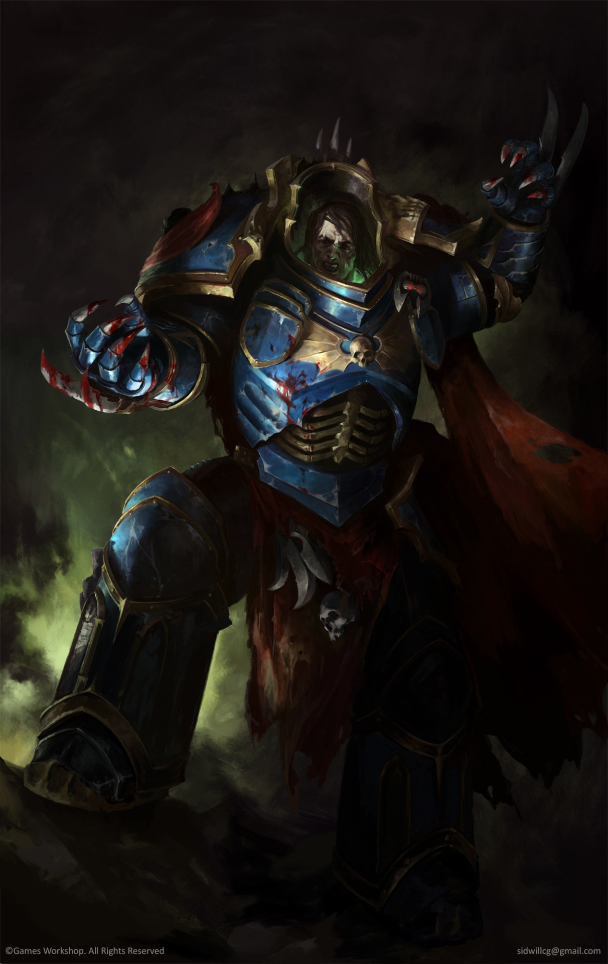 Konrad Curze | Warhammer 40k | FANDOM powered by Wikia