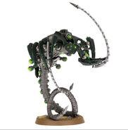 Canoptek wraith with a whip coil