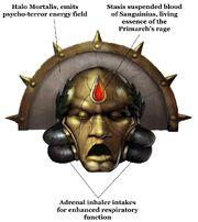 Death Mask of Sanguinius