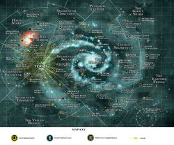 Space Marine Chapter Galaxy Map2