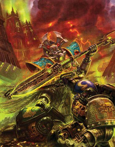 File:Necron Overlord vs. Deathwatch Michael Phillippi.jpg