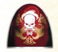 A pauldron from the ceremonial armour of the Karaoghlanlar