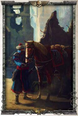 Attilan and mount