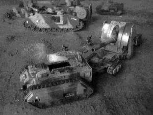 Trojan towing an Earthshaker Artillery Piece