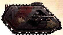 Land Raider of the Space Wolves