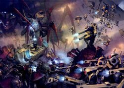 Tau vs nids art