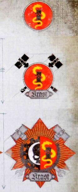 Krast Icon History