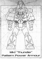 Mk1 thunder armor 200