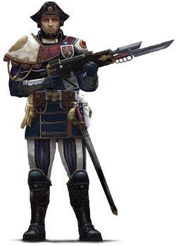 Scintillan Fusilier trooper