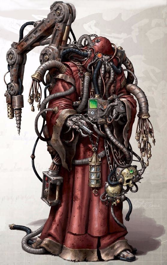 Image result for martian techpriest