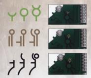 Hieroglyphic patterns