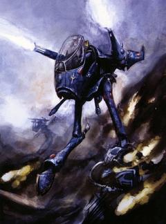 War Walker Art